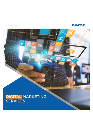 Digital Marketing Services Brochure