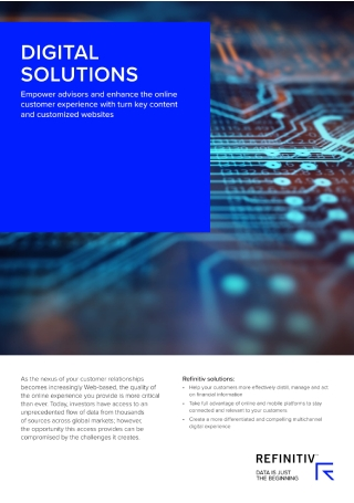 Digital Solutions Brochure