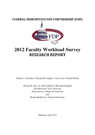 Faculty Workload Survey