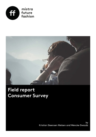 Fashion Consumer Survey Report