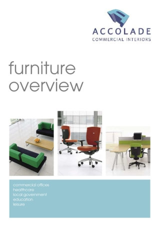 Furniture Overview Brochure