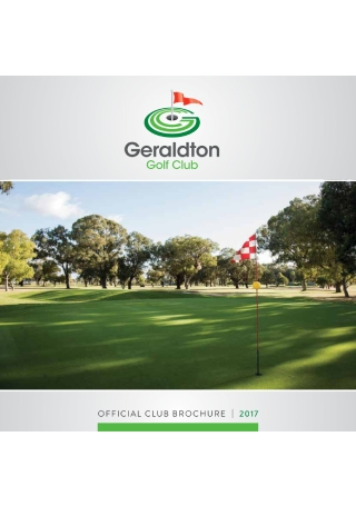 Golf Club Brochure