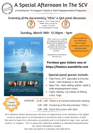 Heal Event Flyer