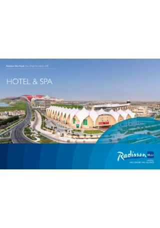Hotel and Spa Brochure