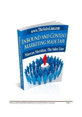 Inbound Content Marketing Made Easy