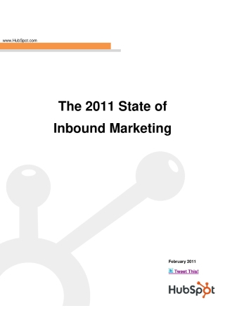 Inbound Marketing Survey Report