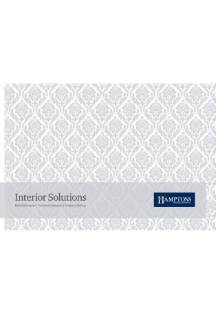 Interior Solutions Brochure