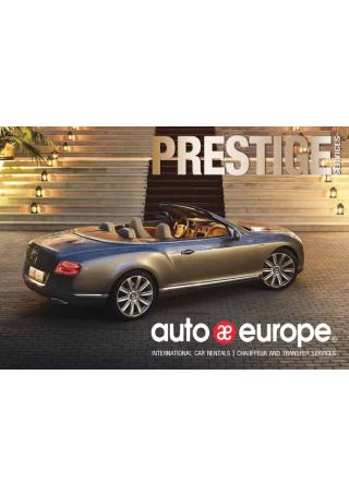 Luxury Car Rental Brochure