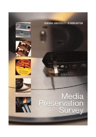 Media Preservation Survey Report