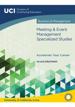 Meeting and Event Management Brochure