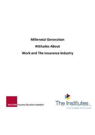 Millennial Generation Survey Report