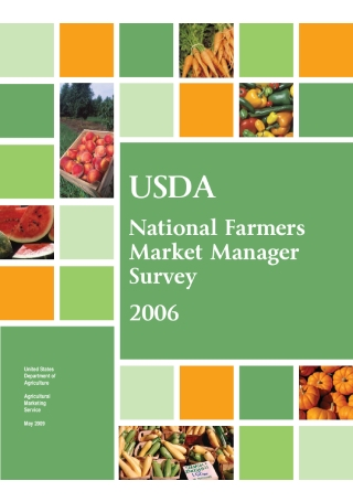 National Farmers Market Survey