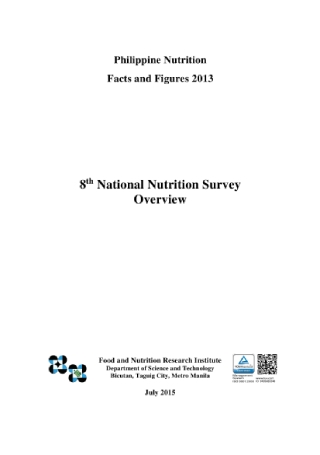 National Nutrition Survey Overview