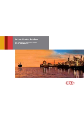 Oil and Gas Business Solutions Brochure