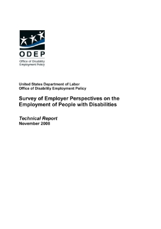 PWD Employer Survey Report
