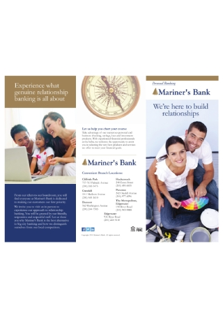 Personal Banking Brochure