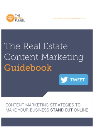 Real Estate Content Marketing Guidebook
