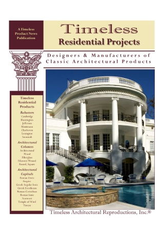 Residential Projects Brochure