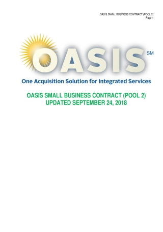 Small Business Contract