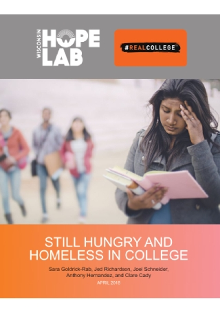Survey of Hungry and Homeless College Students