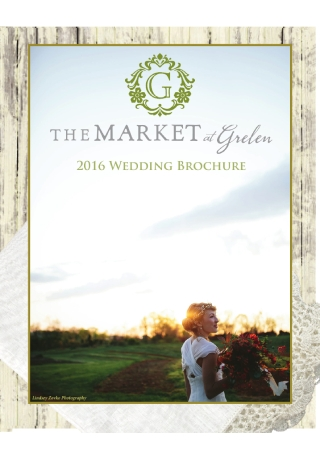 Wedding Venue Brochure