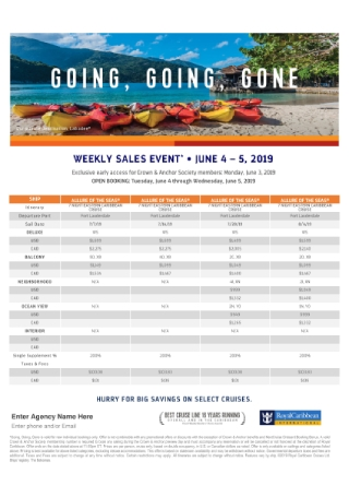 Weekly Sales Event Flyer