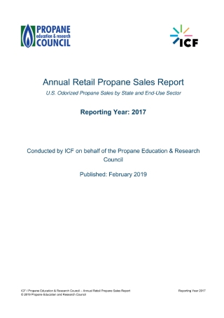 Annual Retail Propane Sales Report