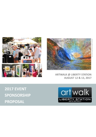 Art Event Sponsorship Proposal