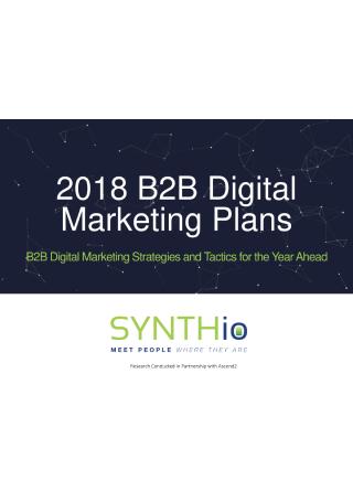 B2B Digital Marketing Plan
