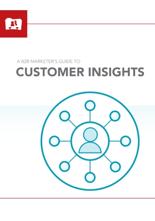 B2B Marketers Guide to Customer Insights