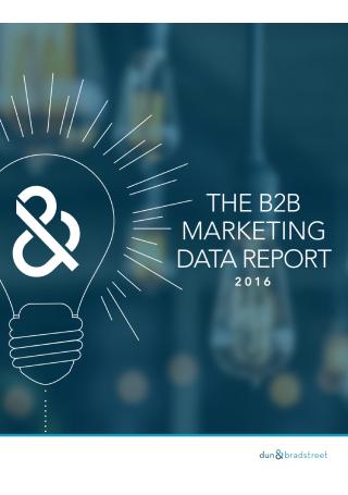 B2B Marketing Data Report