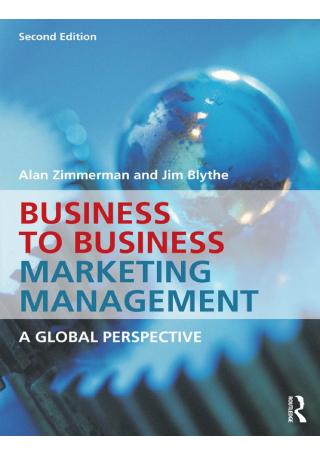 B2B Marketing Management