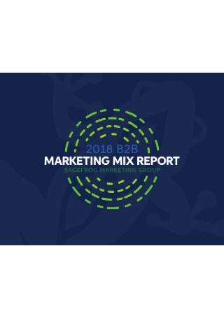 B2B Marketing Mix Report