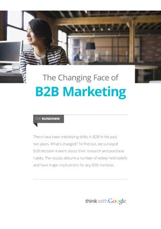 B2B Marketing Research Survey