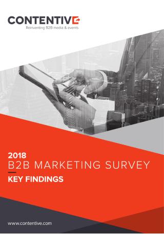 B2B Marketing Survey