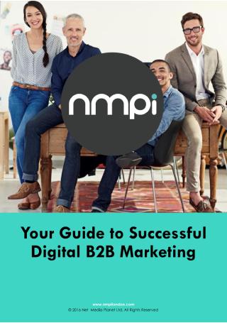 Guide to Successful Digital B2B Marketing