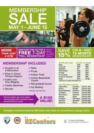 Gym Membership Sale Flyer