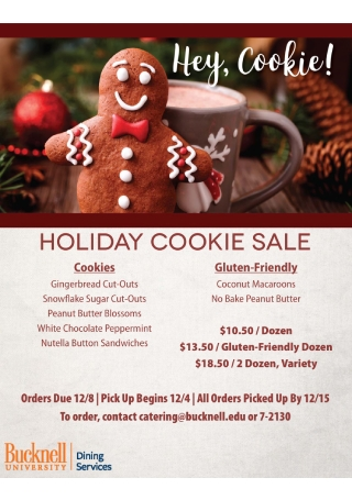 Holiday Cookie Sale Flyer