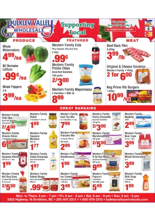 Local Wholesale Flyer
