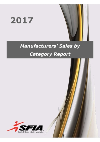 Manufacturers Sales Report