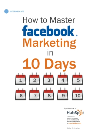 Mastering Facebook Marketing in 10 Days