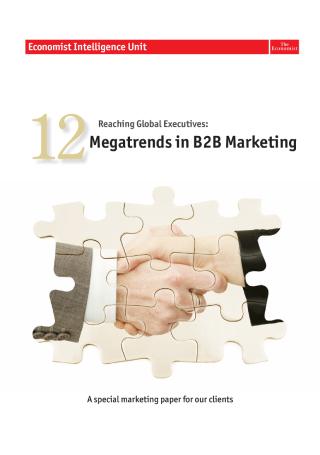 Megatrends in B2B Marketing