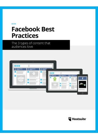 Practice Guide on Facebook Marketing