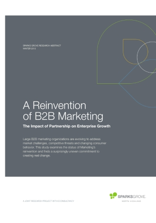 Reinvention B2B Marketing