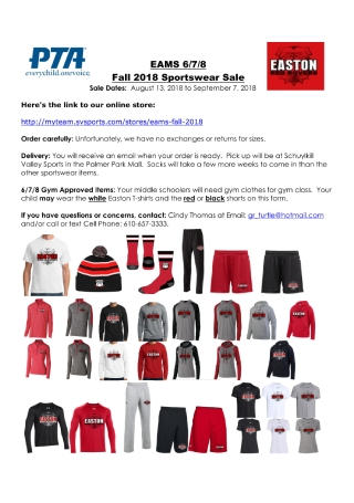 Sportswear Sale Flyer