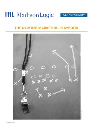 The New B2B Marketing Playbook