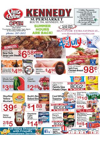 Weekly Specials Flyer