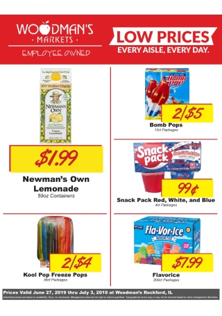 Weekly Store Flyer