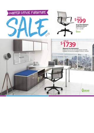Winter Furniture Sale Flyer