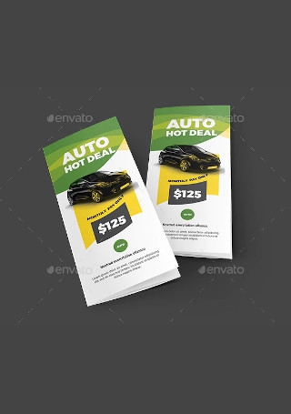 Auto Deal Trifold Brochure